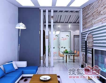 让人倍感温馨的小户型客厅装修欣赏