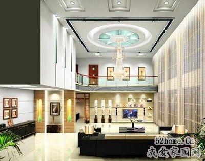 别墅客厅装修案例图 上演极至奢华客厅效果图