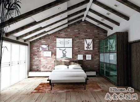 充满智慧的阁楼装修变身靓丽卧室