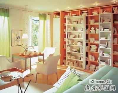 經典書房裝修締造不一樣的精彩家居