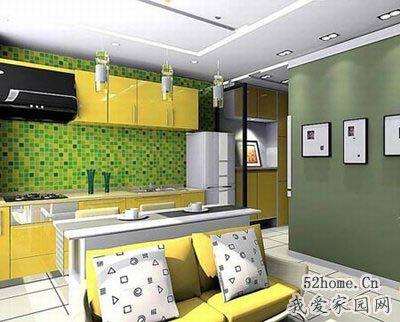 墨绿色欧式客厅效果图